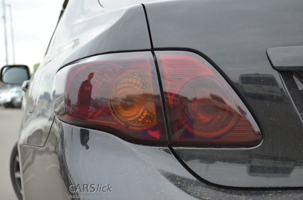 Тонировка задних фонарей — Corolla