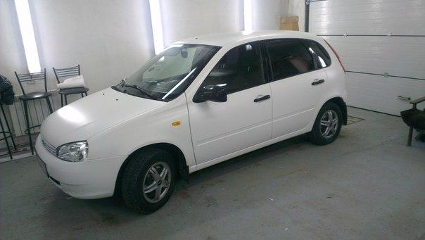 Оклейка автомобиля Лада Калина — январь 2013