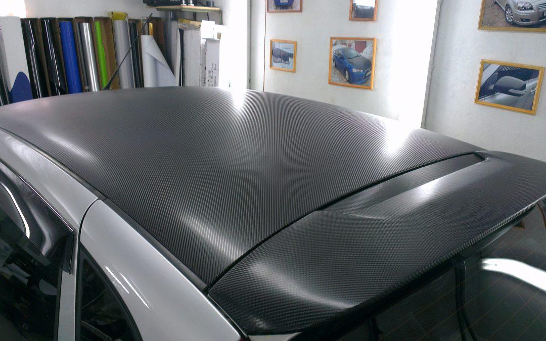 Оклейка карбоном автомобилей ВАЗ 2114 и Лада Калина