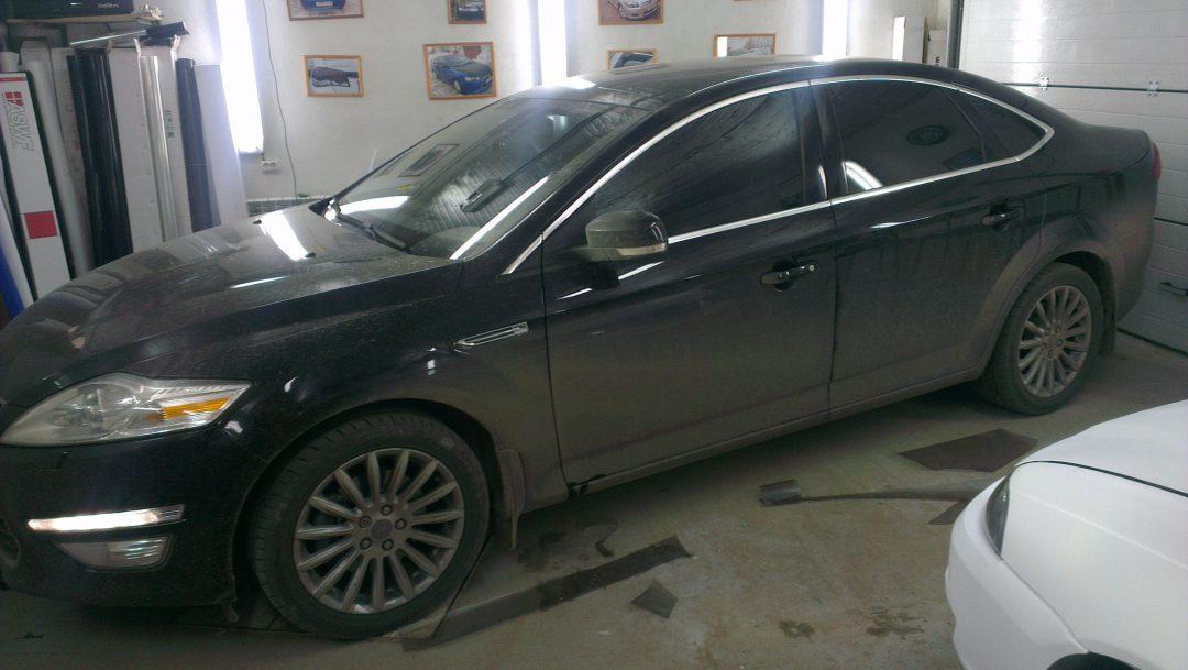Тонировка автомобилей Chevrolet Aveo,Citroen C4,Ford Mondeo, KIA CEED — май 2013