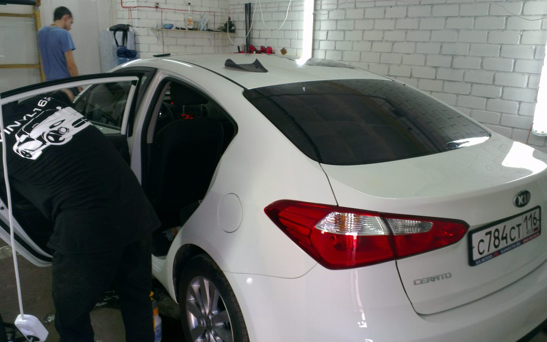KIA Cerato, Renault Duster, Infinity FX 37 — тонировка стекол автомобилей — июнь 2013