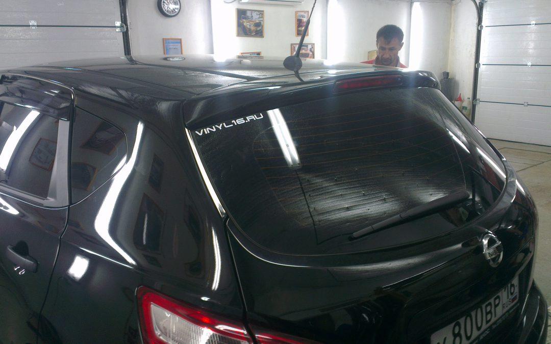 Nissan Qashqai — тонировка стекол автомобиля, июнь 2013