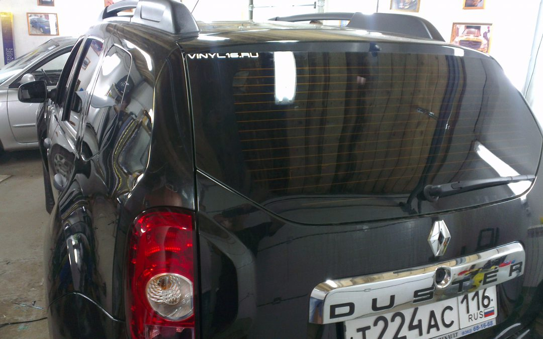 Renault Duster — тонировка стекол авто, июль 2013