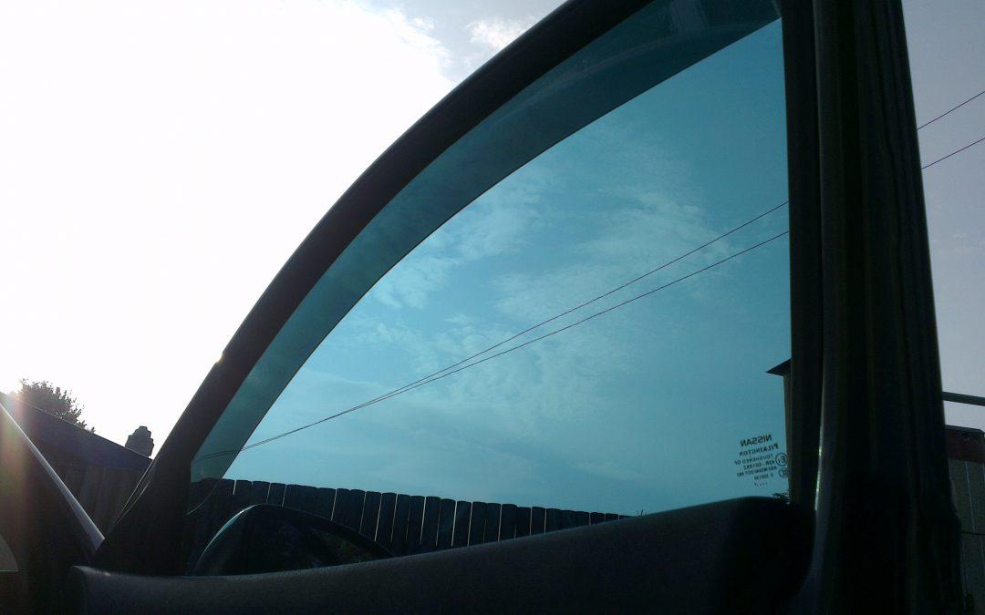 Nissan Qashqai — тонировка стекол авто — август 2013
