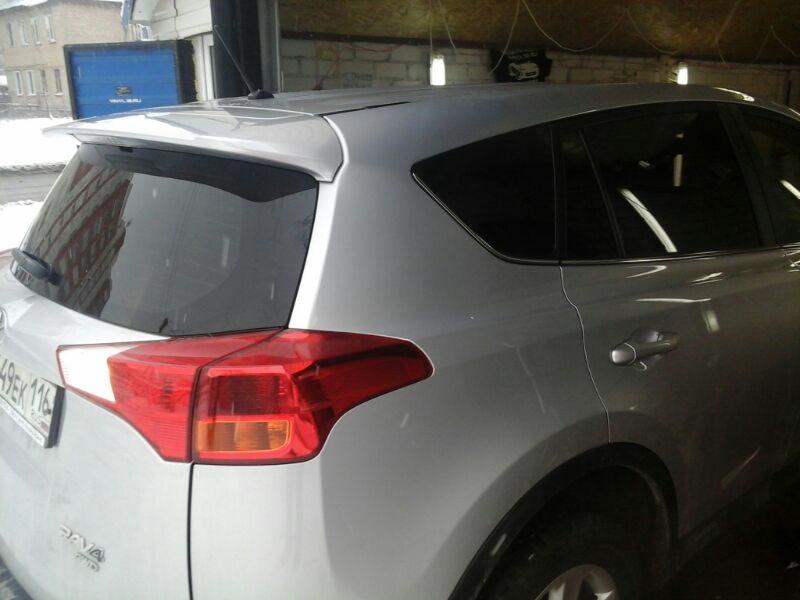 Toyota Rav4 — тонировка стекол автомобиля — декабрь 2013