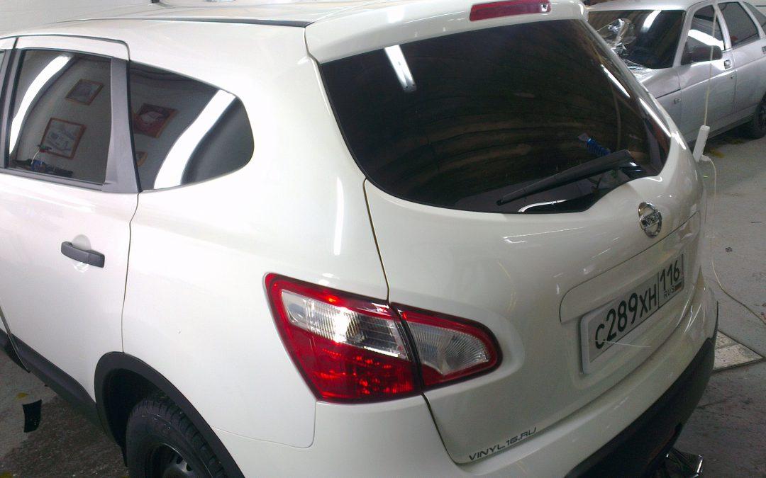 Nissan Qashqai — тонировка авто — январь 2014
