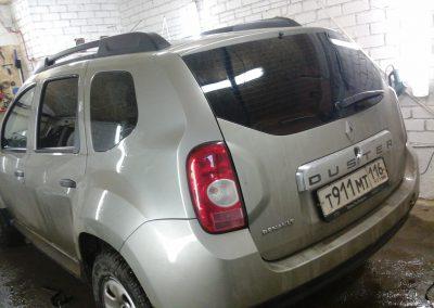 Тонировка автомобиля Renault Duster — март 2014
