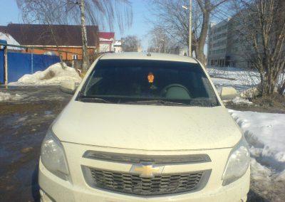 Тонировка автомобиля Chevrolet Cobalt — март 2014