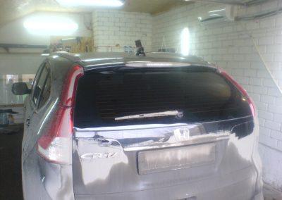 Тонировка авто Honda CRV — март 2014