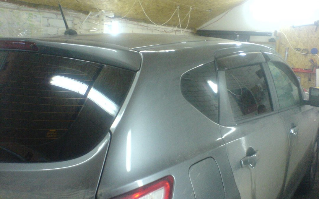 Тонировка автомобиля Nissan Qashqai — март 2014