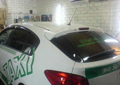 Тонировка стекол автомобиля  такси Татарстан — март 2014