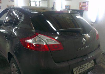 Renault Megan — тонировка стекол — март 2014
