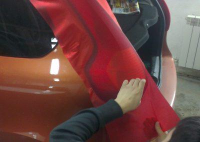 Тонировка автомобиля Лада Калина — март 2014