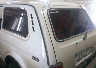 Тонировка стекол автомобиля НИВА — март 2014