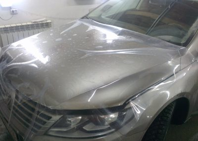 KIA Sportage — бронирование капота автомобиля — март 2014
