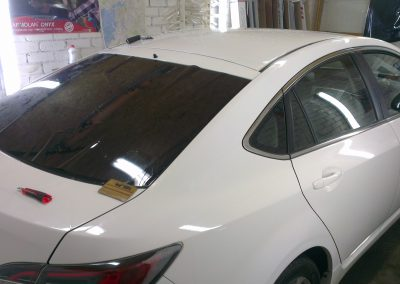 Mazda 6 — тонировка стекол авто — март 2014