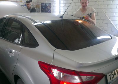 Тонировка автомобиля Ford Focus — март 2014