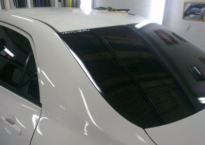 Тонировка автомобиля Toyota Corolla — март 2014