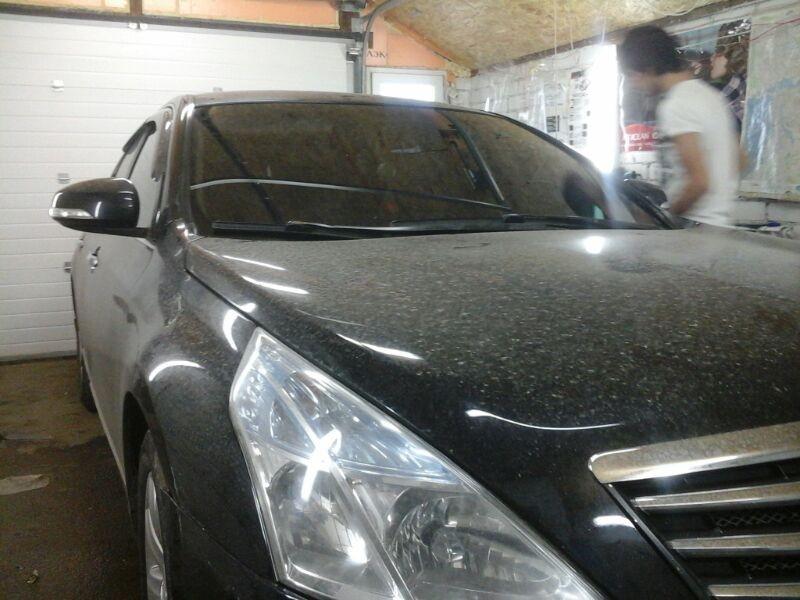 Nissan Teana — тонировка авто в Казани