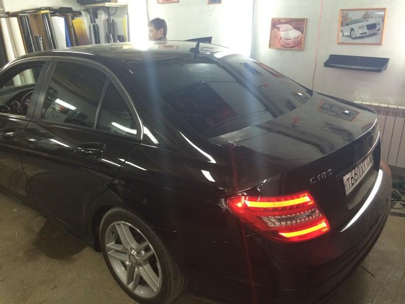 Mercedes-Benz — тонировка стекол авто
