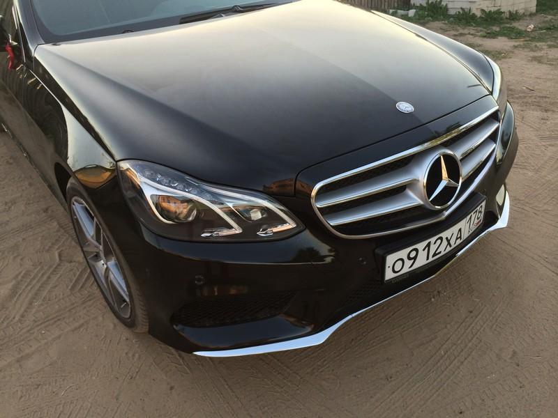 Бронирование кузова Mercedes E400 пленкой 3М