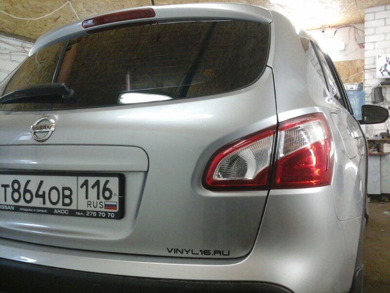Nissan Qashqai — тонировка авто в Казани — июнь 2014