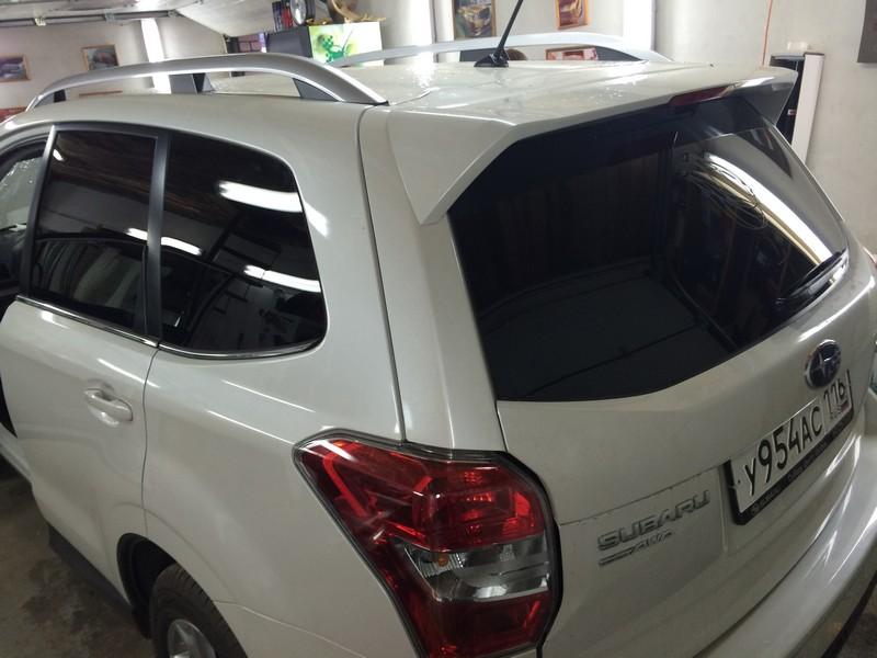 Subaru Forester — тонирование стекол авто — июль 2014