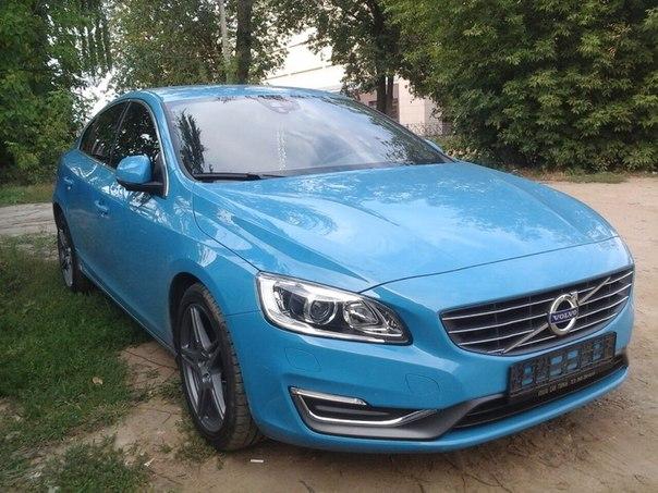 Volvo S60 — тонировка авто — август 2014