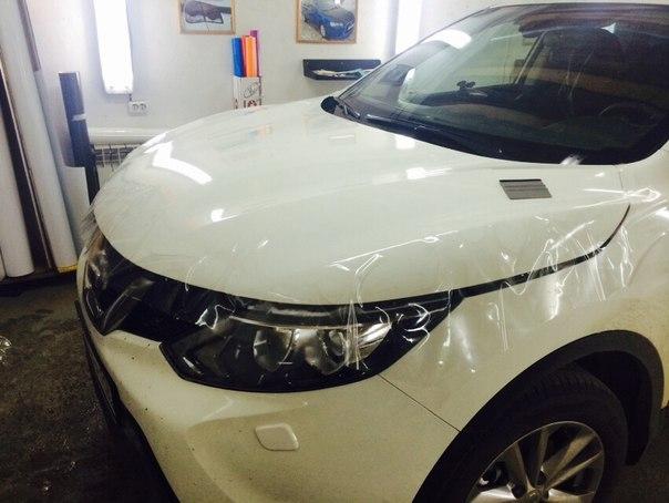 Nissan Qashqai — бронирование кузова антигравийной пленкой