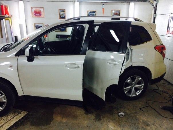 Subaru Forester — тонировка стекол автомобиля