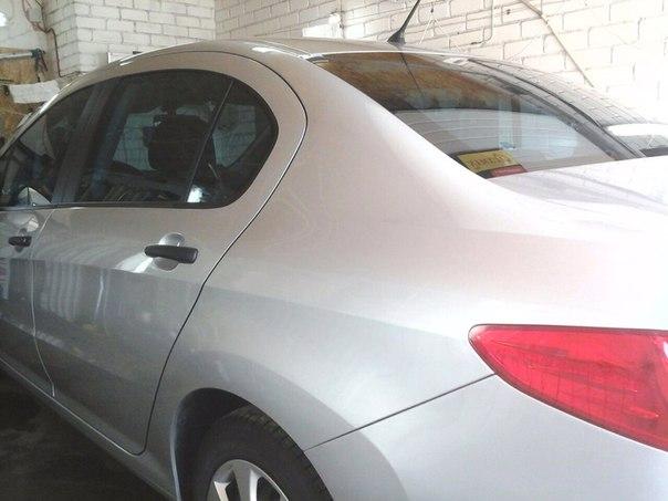 Тонировка автомобиля Peugeot пленкой SUN Control,сентябрь 2014