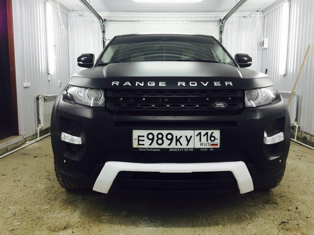 Range Rover Evoque — оклейка автомобиля матовой пленкой KPMF premium