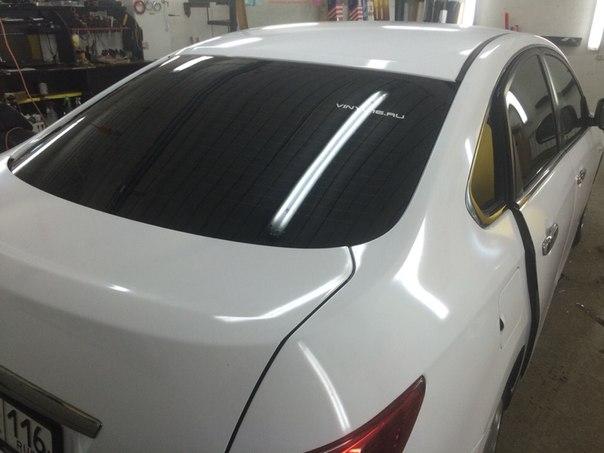 Nissan Almera — тонировка авто