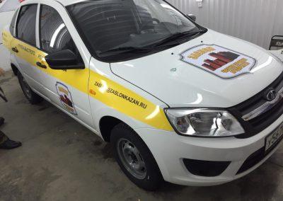 Брендирование автомобилей ГБР Заслон