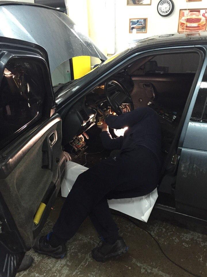 Ваз 2110 — установка сигнализации на авто