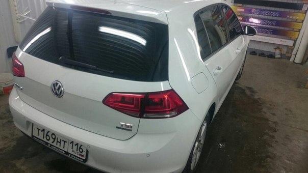 Тонировка автомобилей VW Golf, Kia Ceed, Hyundai I40, Nissan X-Trail — апрель 2015