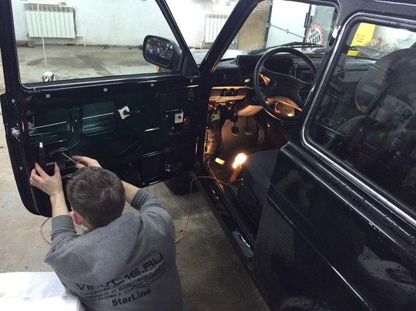 Нива и ВАЗ 2114 — установка сигнализаций на авто