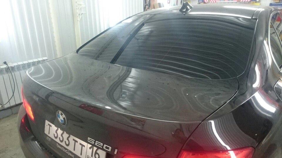Тонировка стекол автомобилей Hyundai I40, BMW 520, Peugeot
