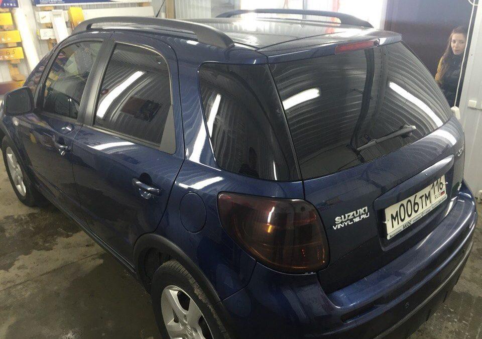 Тонировка фар автомобилей Hyundai и Suzuki