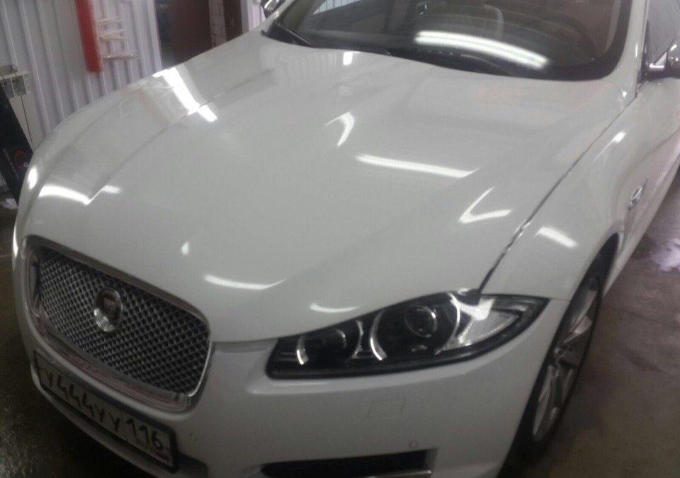 Комплексное бронирование автомобиля Jaguar