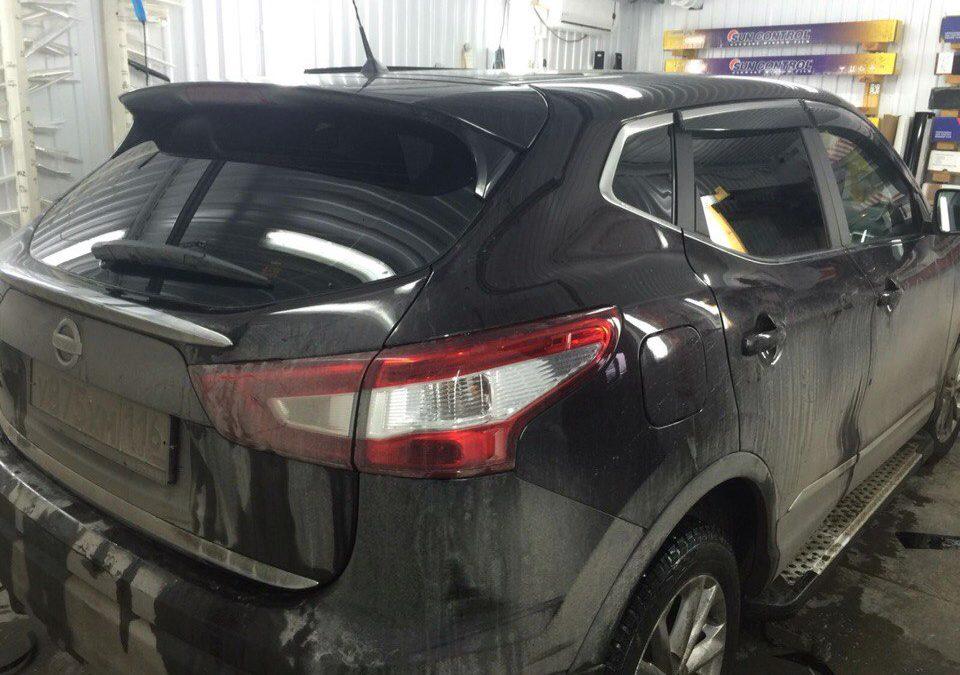 Тонировка задних стёкол 95% пленкой Johnson — Nissan Qashqai