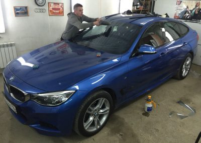 Тонировка всех стёкол 20% пленкой Sun Control lce Cool — BMW GT