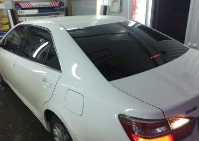 Тонировка задних стёкол 95% пленкой Global — Toyota Camry