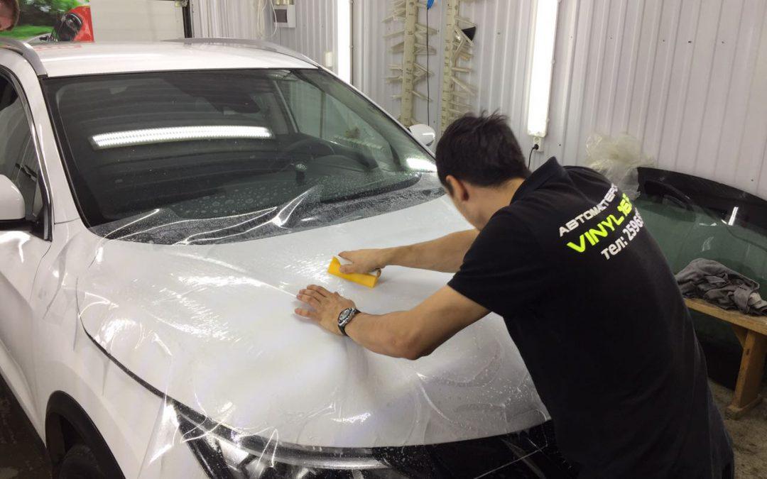 Полное бронирование антигравийной пленкой кузова автомобиля — Nissan Qashqai