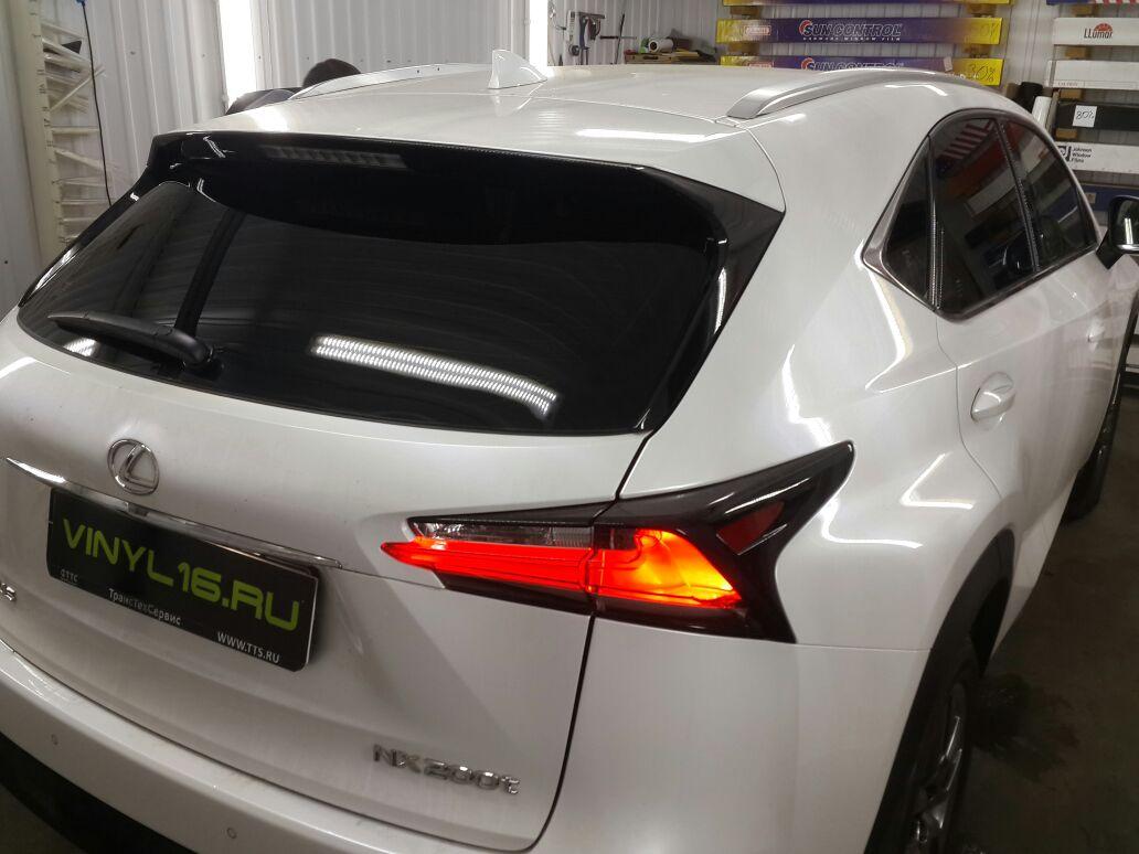 Тонировка стёкол пленкой Johnson 95% — Lexus NX 200