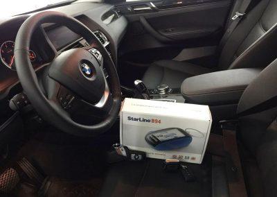установка автосигнализации на BMW X3