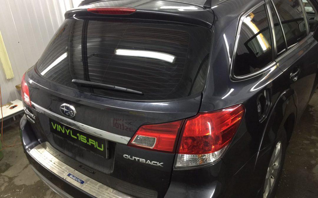 Тонировка стёкол пленкой LLumar 95% — Subaru Outback