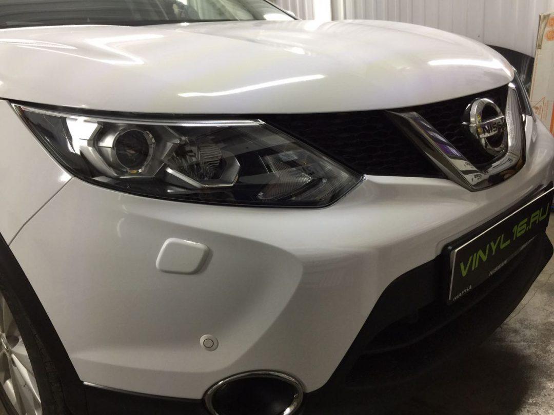 Полное бронирование антигравийной пленкой кузова авто Nissan Qashqai