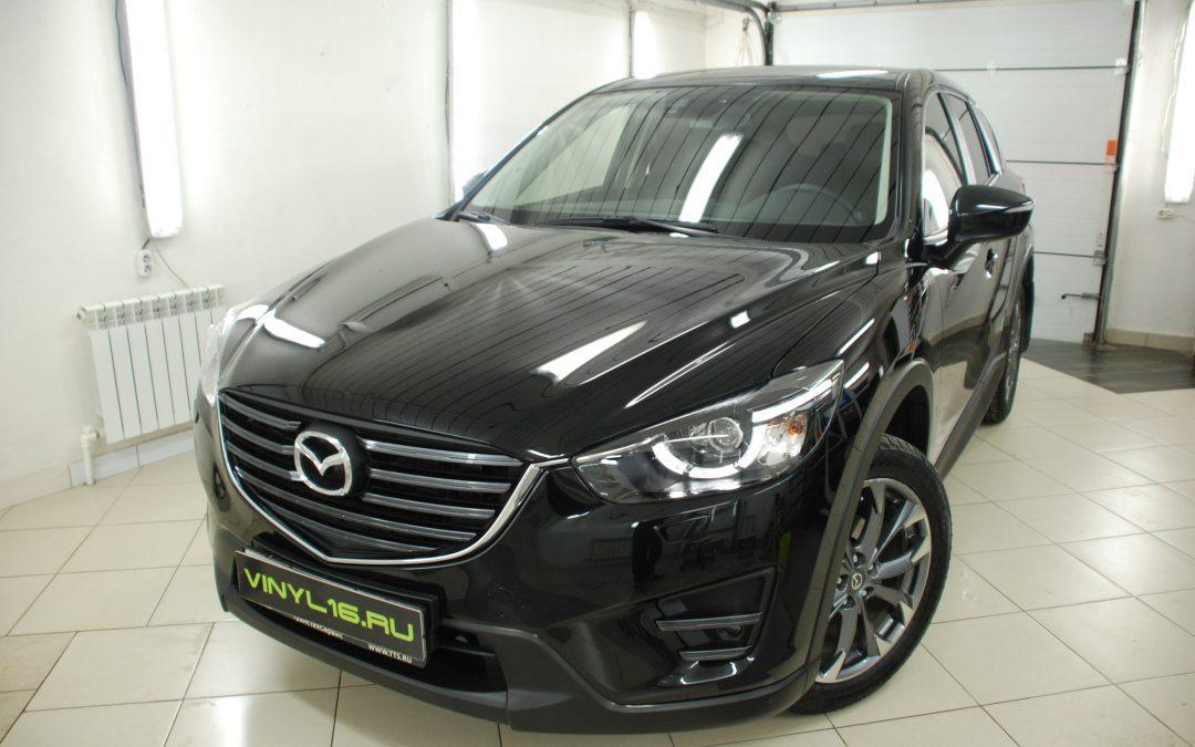 Покрытие кузова нанокерамическим покрытием Ceramic Pro 9h — Mazda CX 5