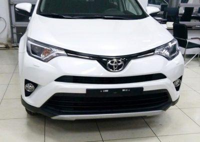 Бронирования кузова автомобиля Toyota Rav 4, в гостях у Germanica auto